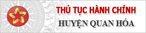 Thu tuc hanh chinh cấp huyện